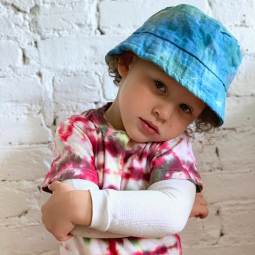 """Ocean's"" Tie Dye Bucket Hat"