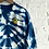 "Thumbnail: Shibori inspired ""necklace"" Indigo Tee"