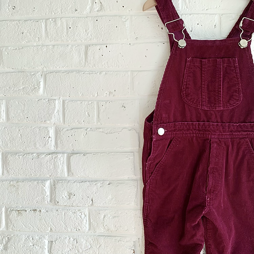 Vintage Cord Overall