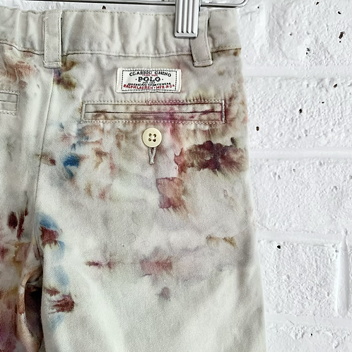 Hand Dyed Polo Pleated Trousers