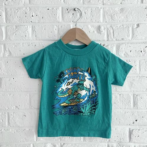 """Vintage """"Swamp Surfer"""" Tee"""