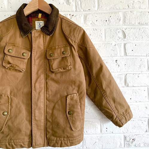 Lands' Ends Waxed Cotton Chore Coat