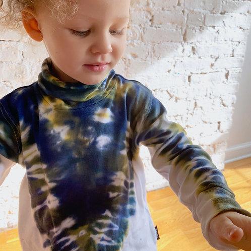 Proenza inspired Tie Dye Turtleneck