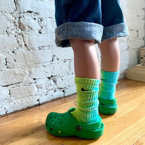 Tie dye Nike socks (SM)