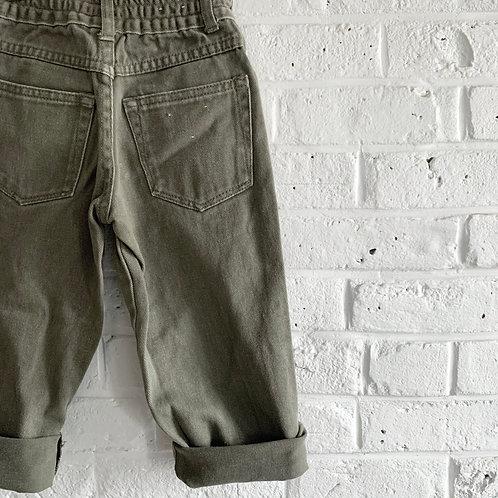Classic Faded Khaki Jeans