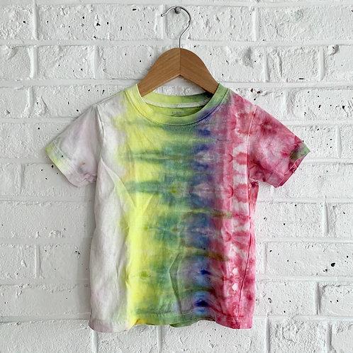 Acid Rainbow Tie Dye Tee