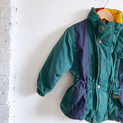 Vintage Colorblock Jacket