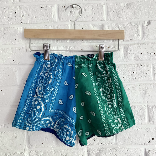 Pull-on Bandana Shorts