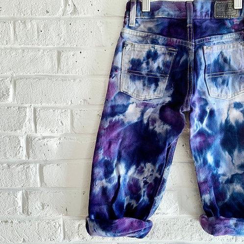 """Dark Monèt Flowers"" Jeans"