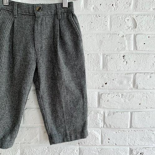 Vintage Herringbone Trousers