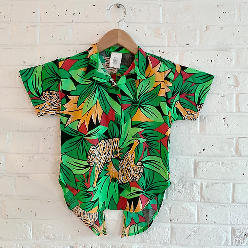 Novelty Printed Button-up