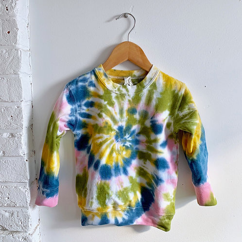 Swirl Tie Dye Sweatshirt