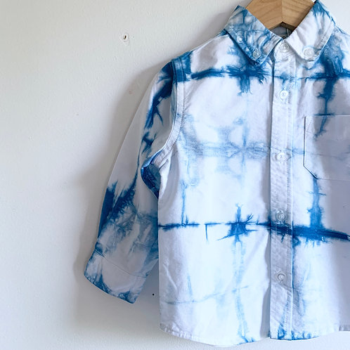 Shibori Inspired Button-up