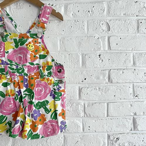 Vintage Floral Shortalls