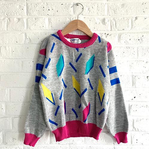 Vintage Geo Sweater
