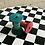 Thumbnail: Hand Dyed Blocks in Indigo dyed Sack