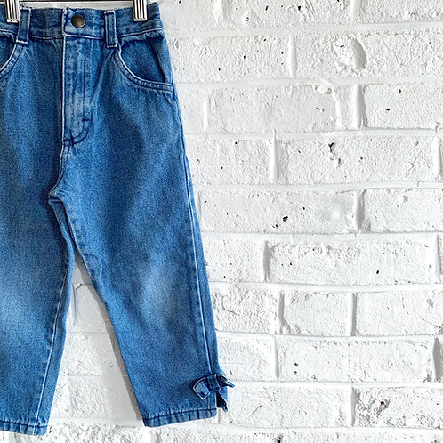 Vintage Bow Jeans
