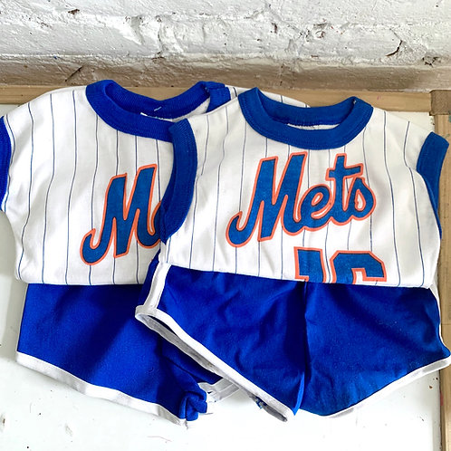 Vintage Mets Short Set