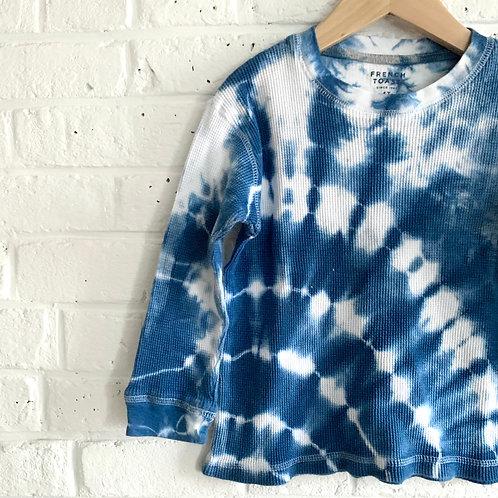 Shibori inspired Tie Dye Thermal