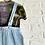 Thumbnail: Vintage Button Front Overalls