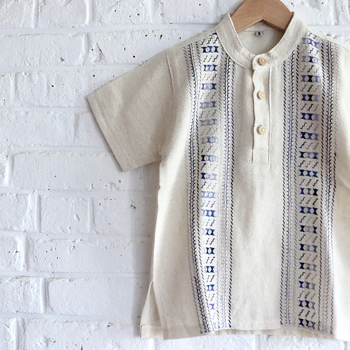 Hand Embroidered Pull-over Top