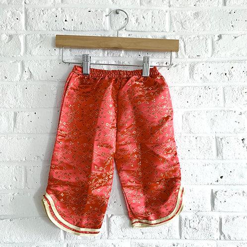 Pull-on Silk Pants