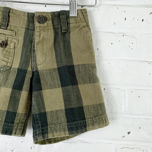 Burberry Check Shorts
