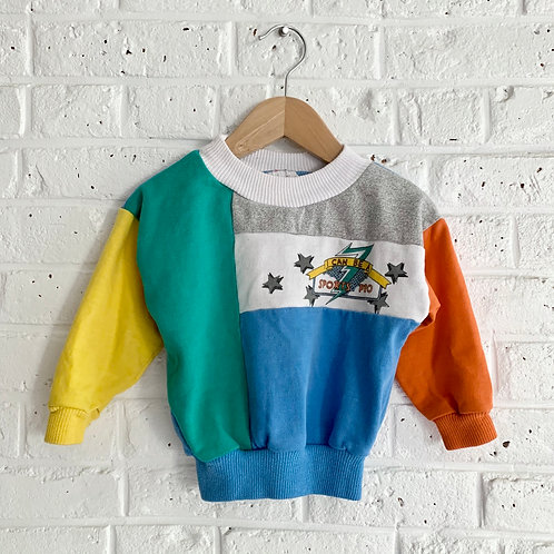 Vintage Colorblock Sweatshirt