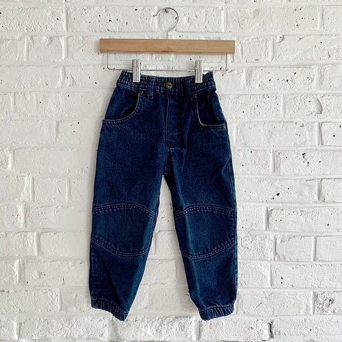 Pieced Denim Jogger