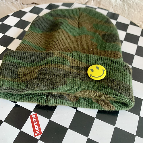 Youth Dark Camo Beanie
