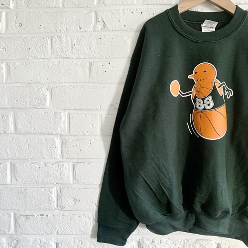 Basketball Snowman Sweatshirt