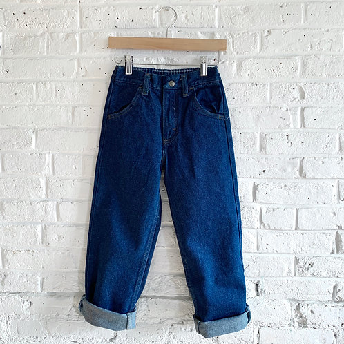 Classic Dark Blue Jeans