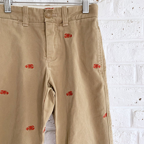 Embroidered Lobster Trousers