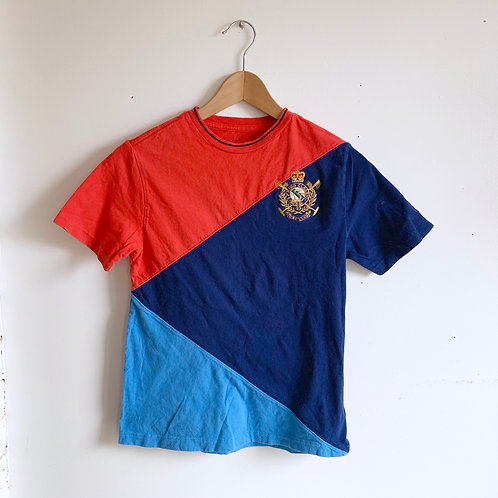 Colorblock Polo Tee