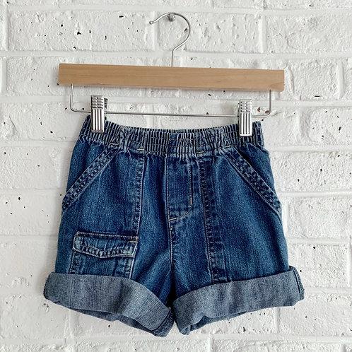 Basic Denim Shorts