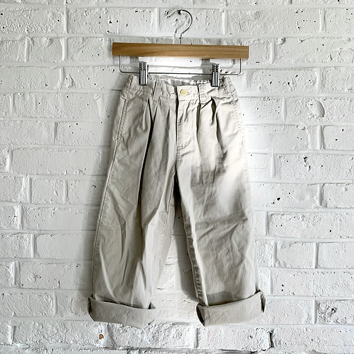Vintage Polo Pleated Trousers