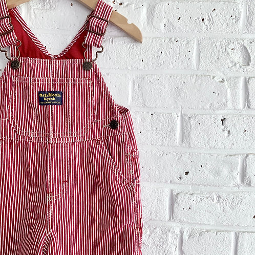 Lined OshKosh B'gosh Engineer Stripe Overall