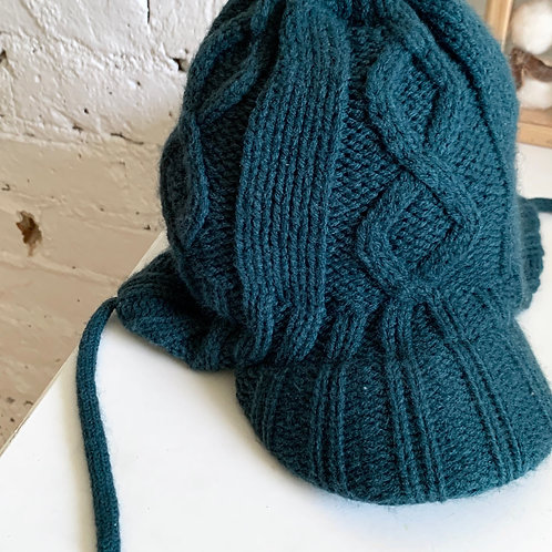 Infant Chunky Knit Brimmed Beanie