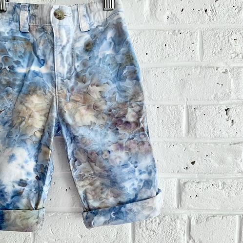 """Blue Hydrangea"" Vintage Polo Trousers"