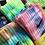 Thumbnail: Tie dye Nike socks (M)