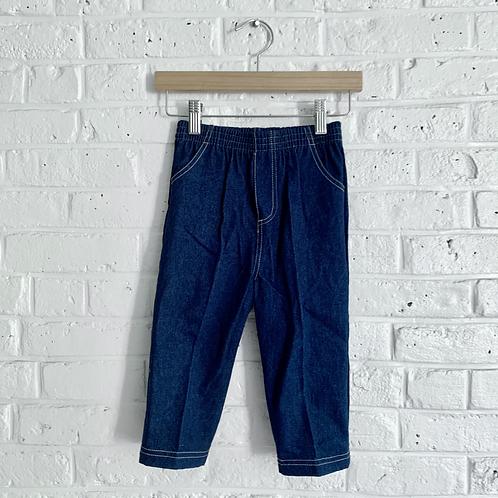 Pull-on Denim Trousers