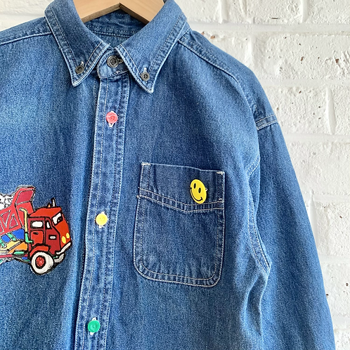 Truck Patches Button-up