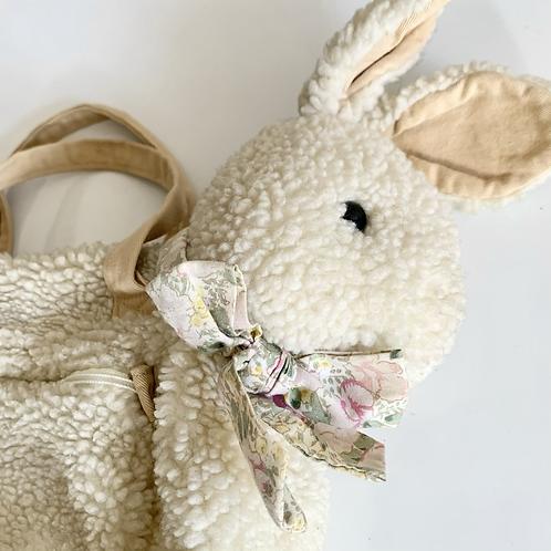 Vintage Plush Bunny Duffle