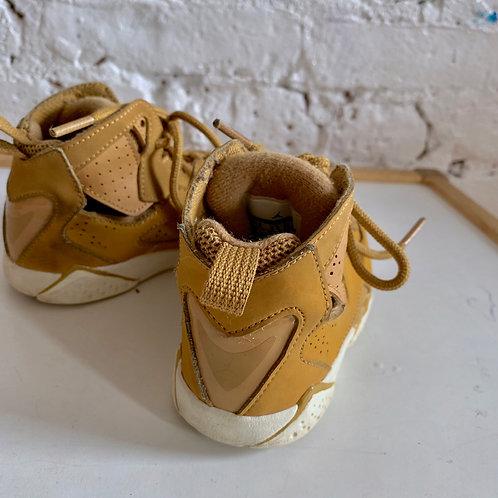 """Tan """"Retro Jordan 7"""" Sneakers"""