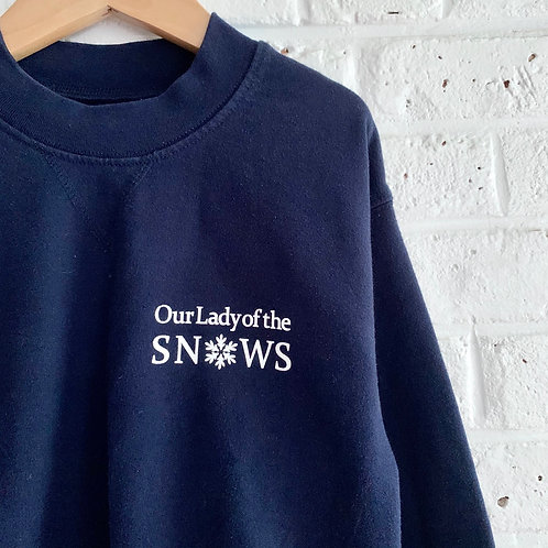 """""""Our Lady of the Snows"""" Sweatshirt"""