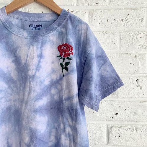 Cloud Tie Dye Rose Tee