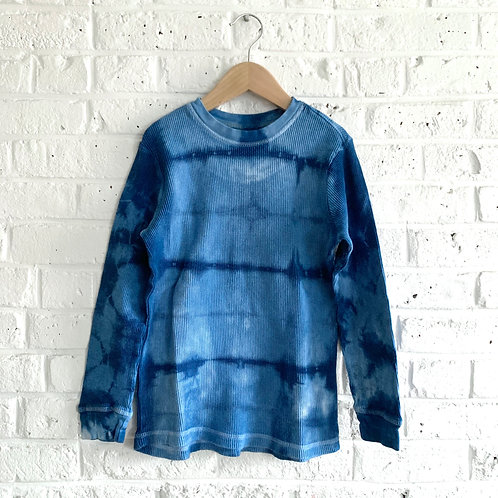 Shibori inspired Tie Dye Thermal