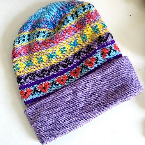 Colorful Knit Beanie