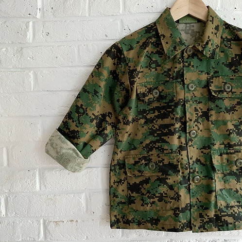 Digital Camo BDU Shirt