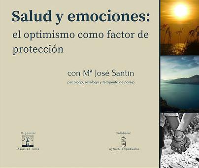 """¿Nos vemos el 15 de diciembre? Charla """"Emociones y salud: el optimismo cómo factor de protección"""""""